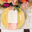 130x130 sq 1414699228518 southern events gold and coral table cjs off the s