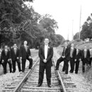 130x130 sq 1418091500371 groomsmen picture on tracks