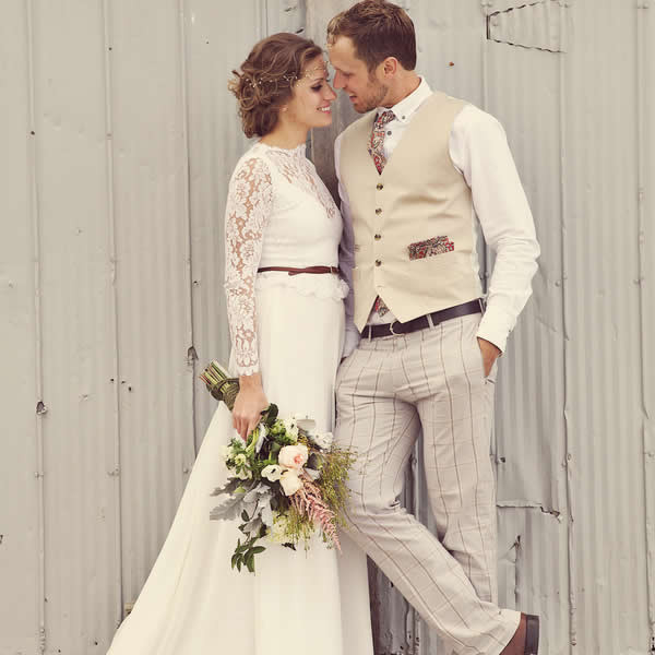 Бежевая свадьба фото