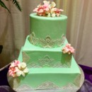 130x130 sq 1386661454117 green lace cak