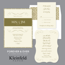 Kleinfeld Paper Invitations Billerica Ma Weddingwire