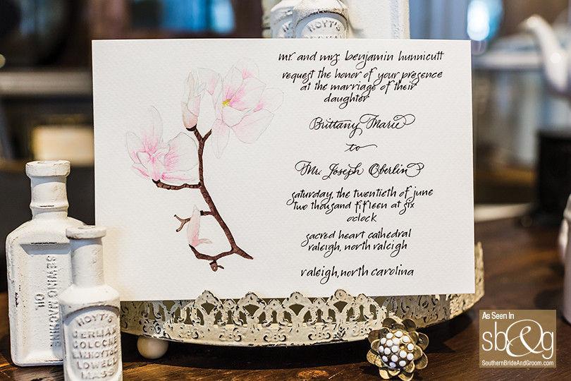 The Oblique Pen Wedding Invitations Wedding Unique Services Other North Carolina
