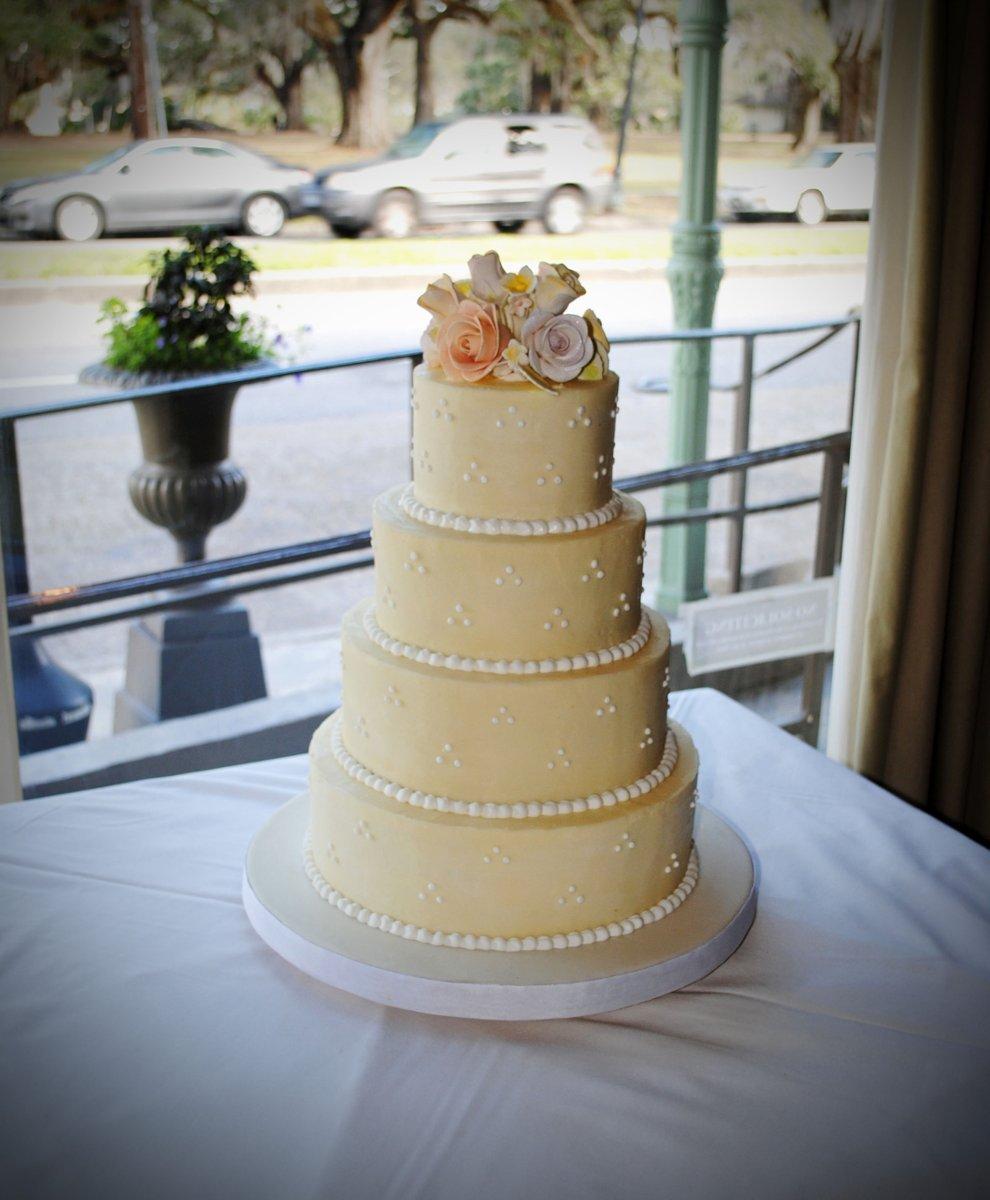 Simply Sweet Shop Wedding Cake Louisiana New Orleans