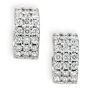 130x130 sq 1389654246271 wedding jewelry diamond huggies earrings white gol