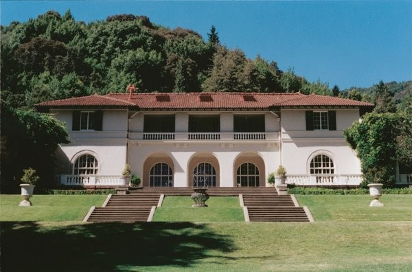 Villa Montalvo At Montalvo Arts Center Wedding Ceremony