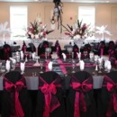 130x130 sq 1369446038863 135667 pink and black wedding reception decorations