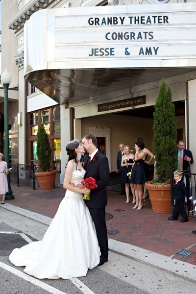 Granby theater reviews ratings wedding ceremony for Wedding dresses in hampton roads