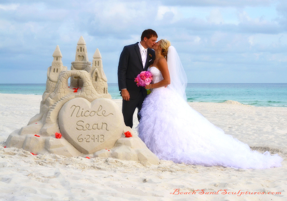 Beach Sand Sculptures Wedding Unique Services Other