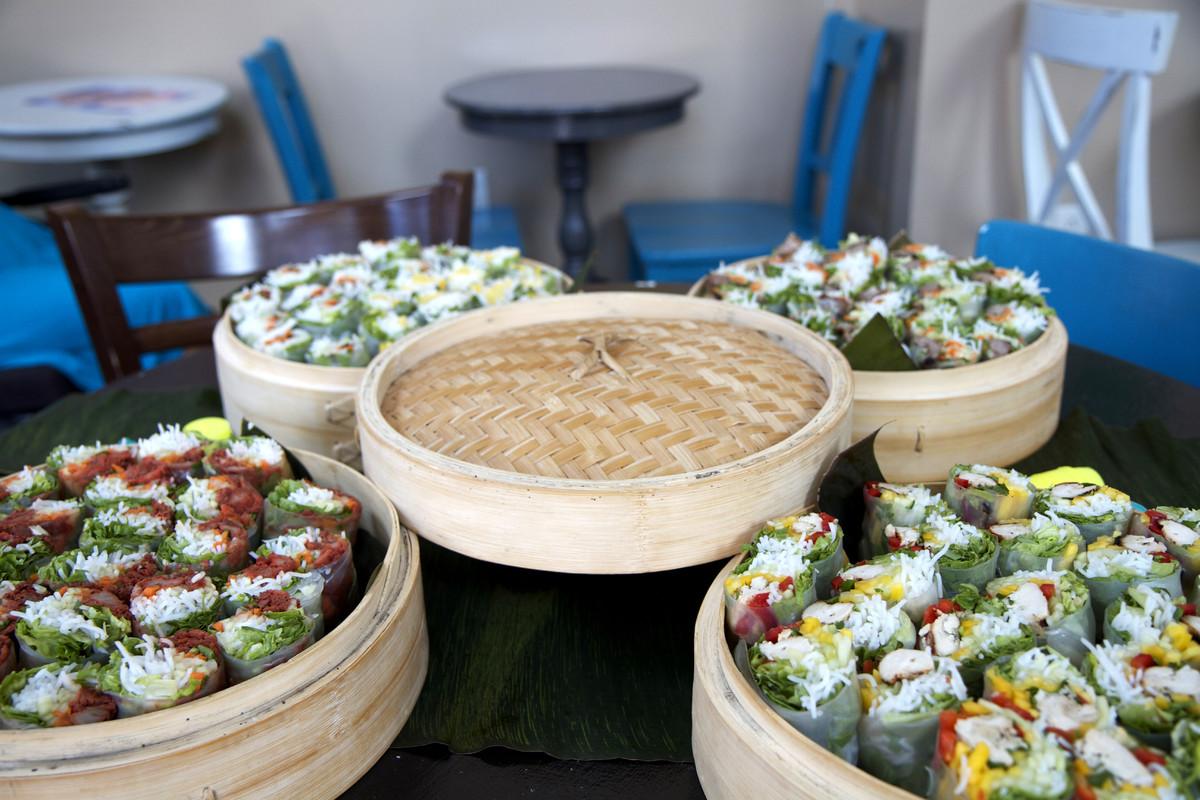 Bamboozle Tea Lounge Wedding Catering Florida