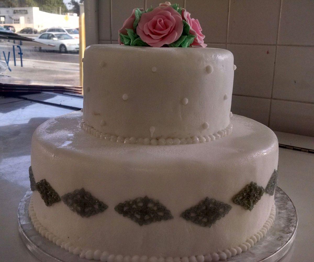 Carvel Ice Cream Of Syosset Wedding Cake New York