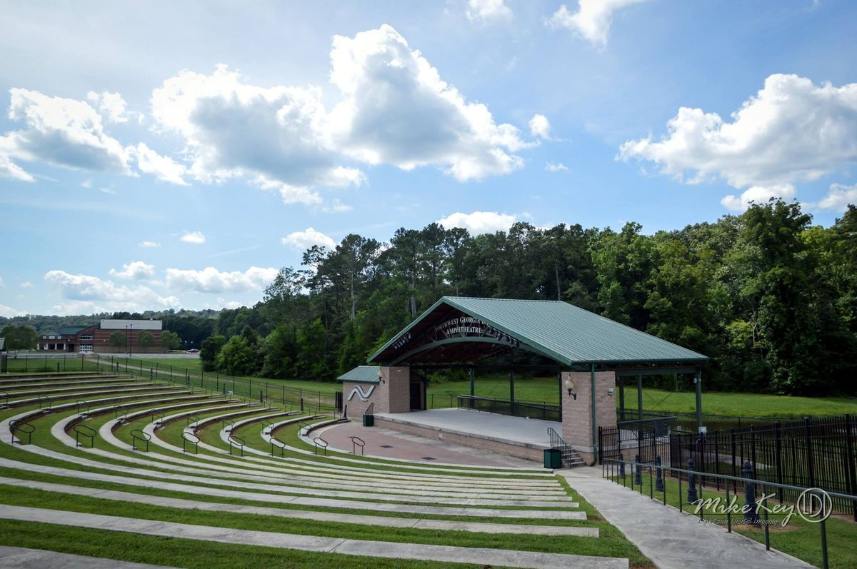 Northwest Georgia Amphitheatre Wedding Ceremony