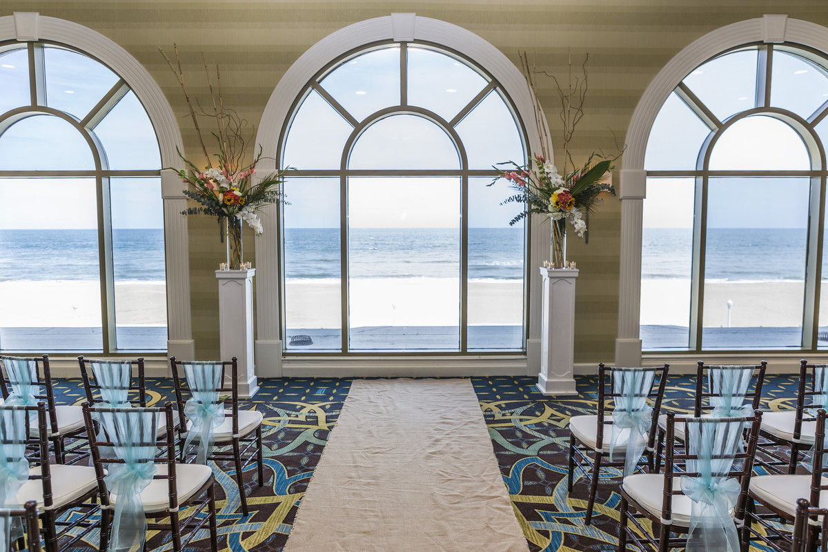 Sheraton Virginia Beach Oceanfront Hotel Wedding Ceremony