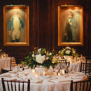130x130 sq 1419094632606 dark wood green and cream reception decor 600x399