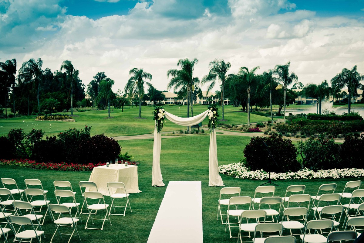 Estero Country Club Wedding Ceremony Amp Reception Venue