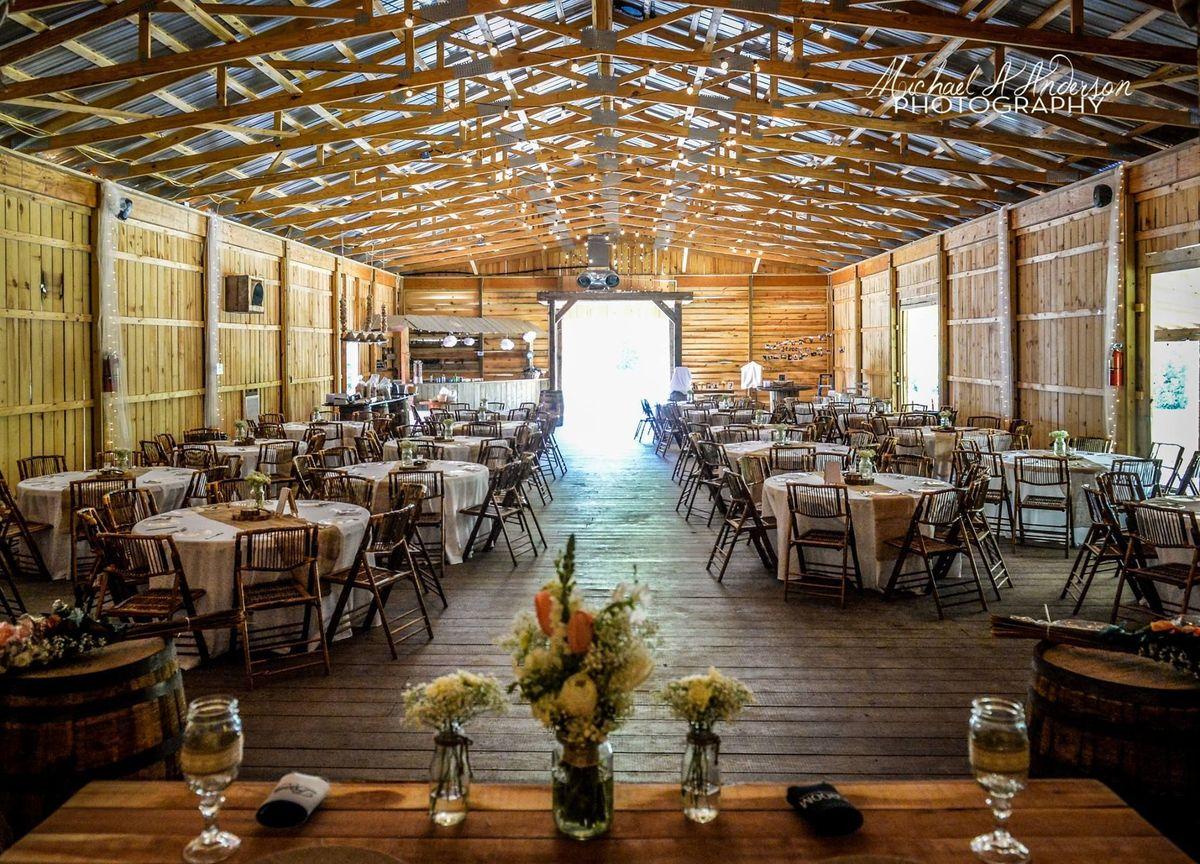 The Cotton Gin Barn Wedding Ceremony U0026 Reception Venue North Carolina - Charlotte Asheville ...