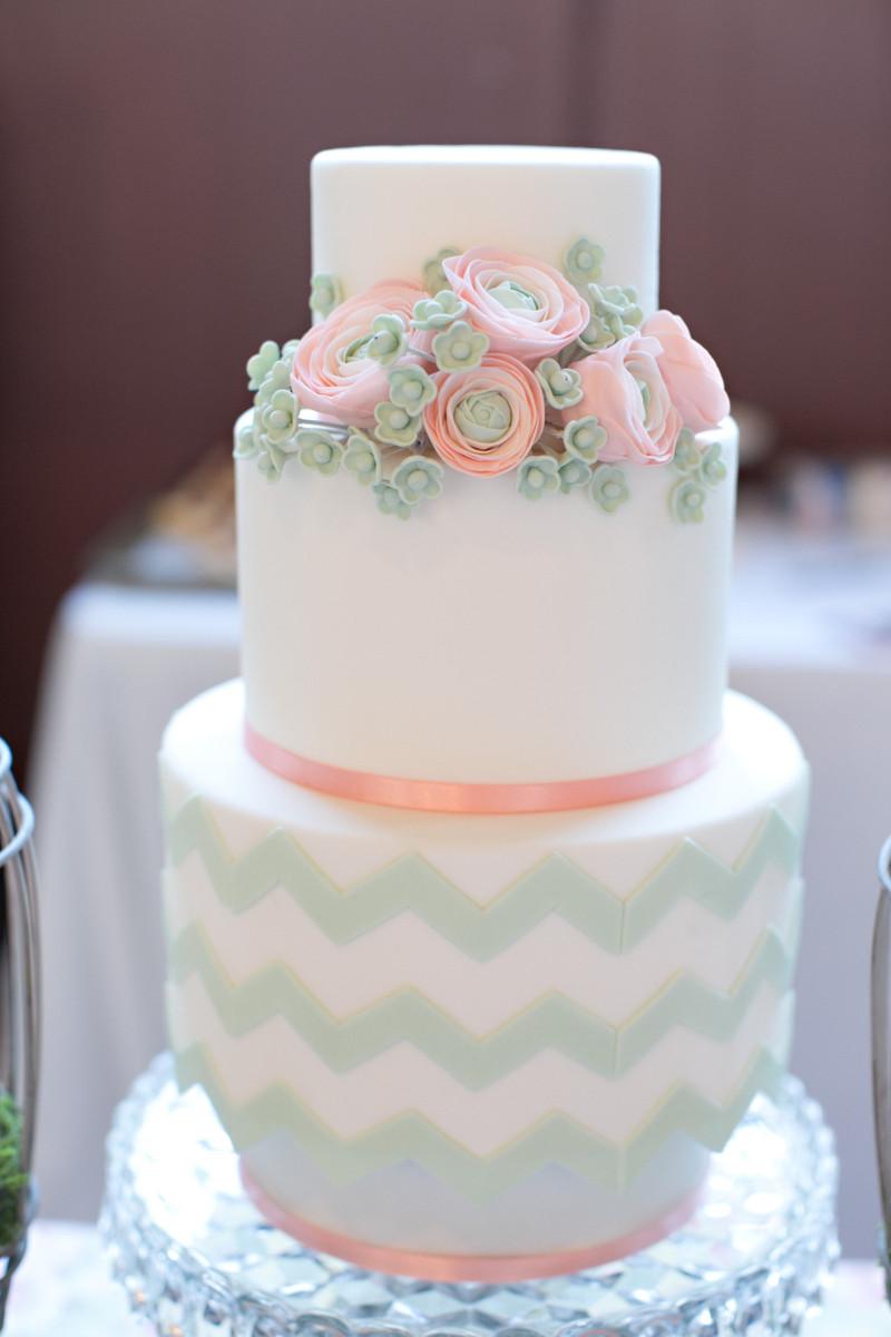 Vintage Blossom Cakes Wedding Cake California