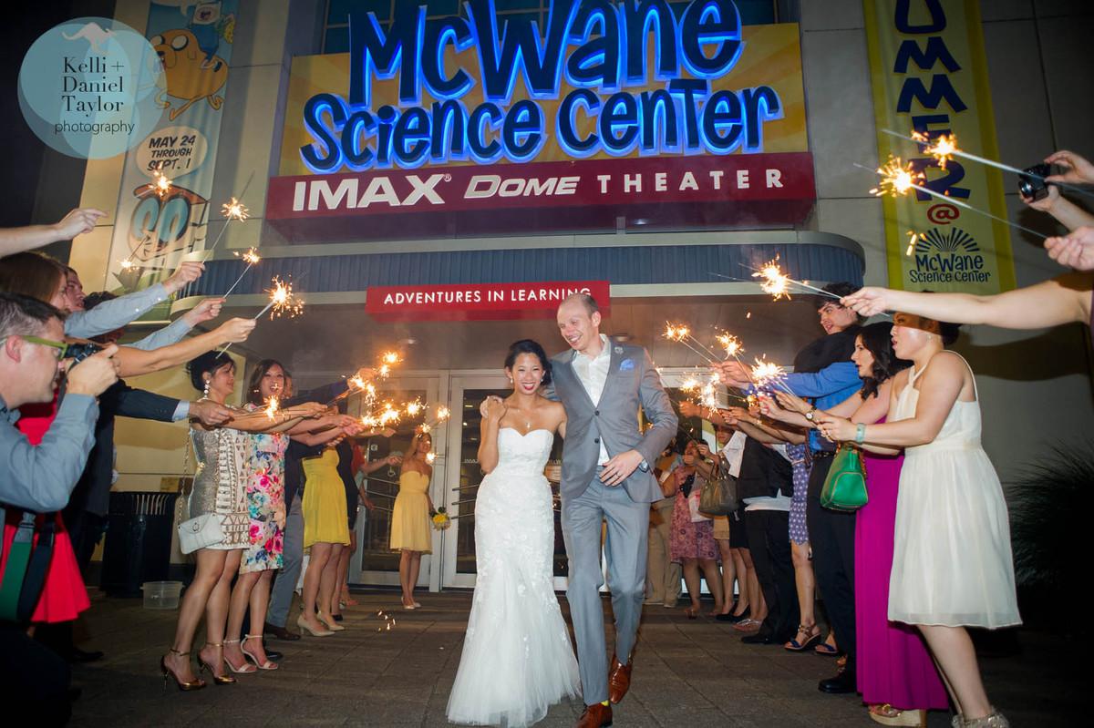 McWane Science Center, Wedding Ceremony & Reception Venue