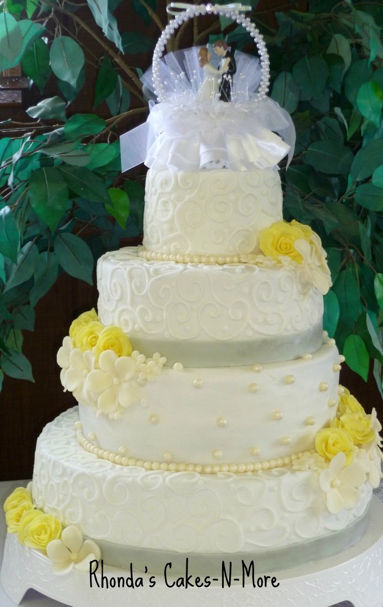 rhonda 39 s cakes n more wedding cake ohio cincinnati dayton and