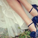 130x130 sq 1417806790466 blue bridal shoes52