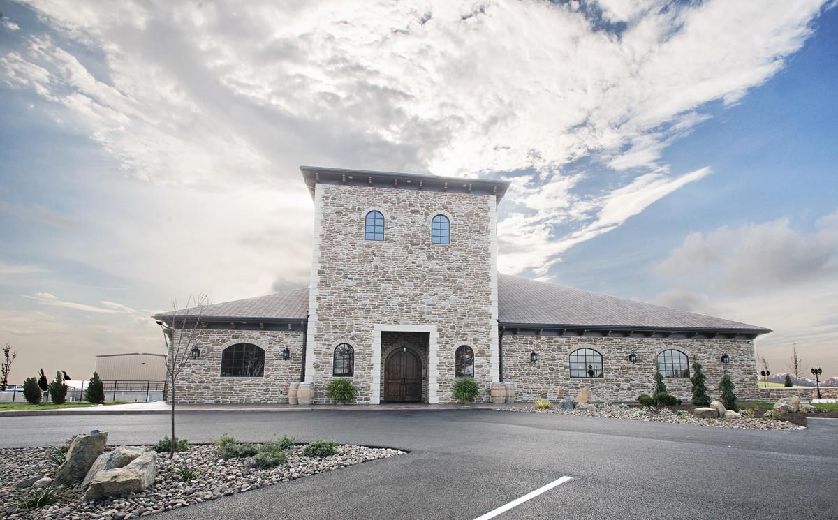 folino estate vineyard winery wedding ceremony