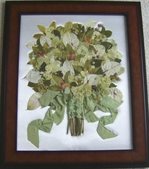 Wedding Flower Preservation Sheffield : Flower preservation by waterford past thymes wedding
