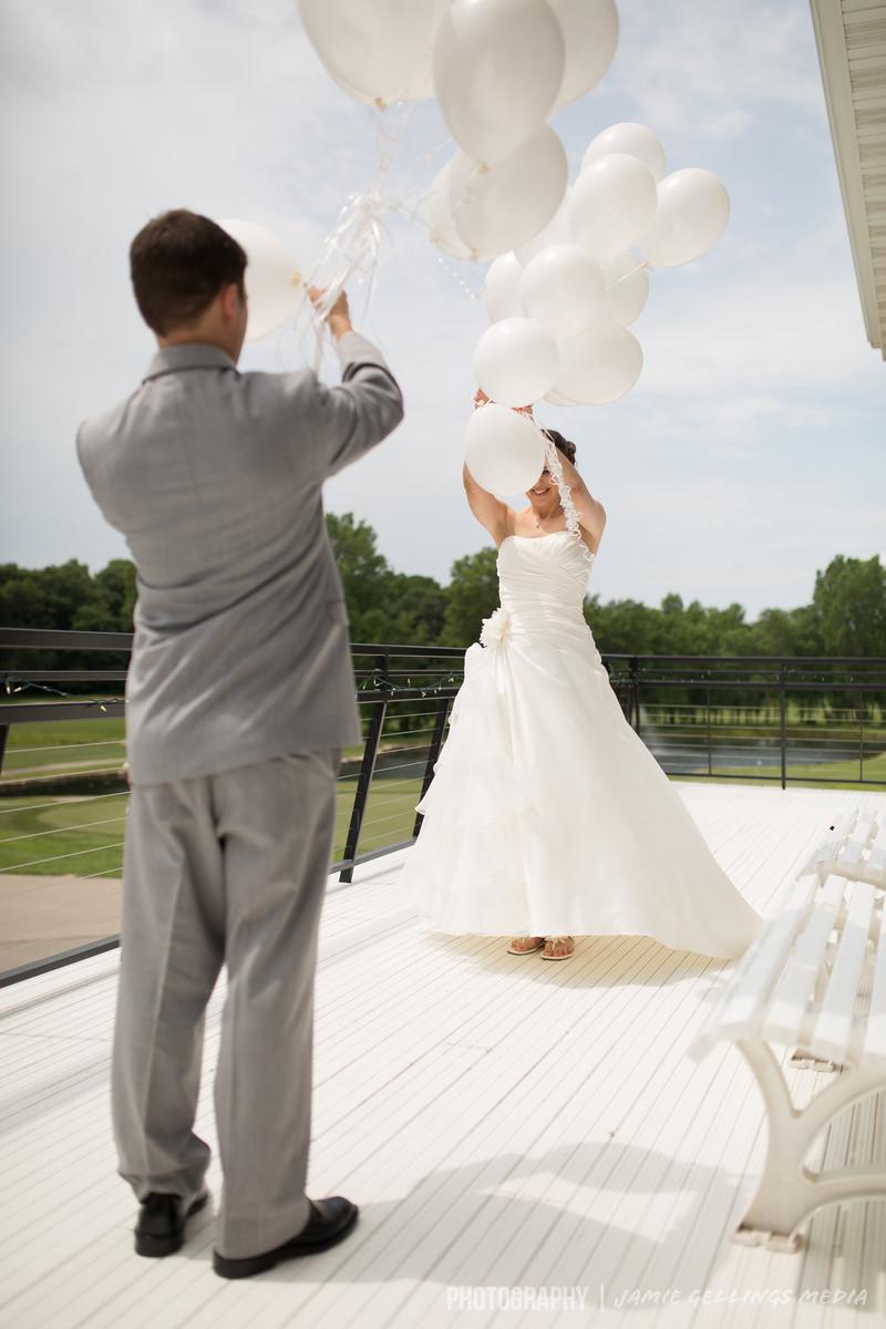 Whispering springs golf club wedding ceremony reception for Wedding dress shops in green bay wi