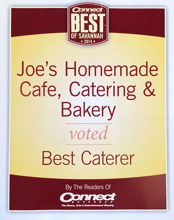 Joes Homemade Cafe Catering And Bakery Savannah Ga