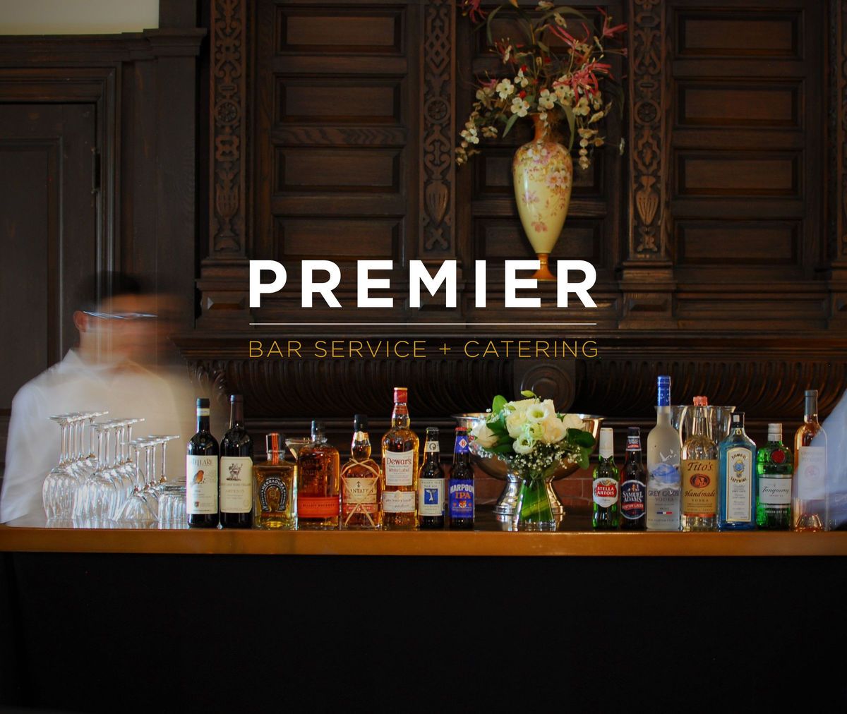Premier Bar Service Catering Wedding Catering