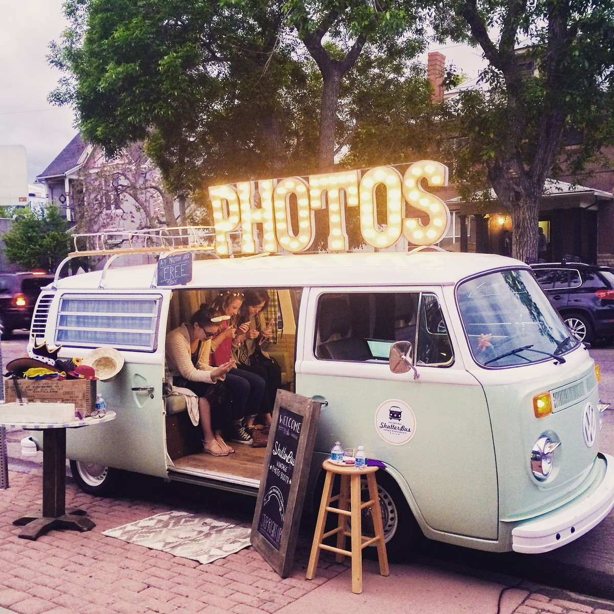The Shutterbus Vw Photo Booth Bus Wedding Event Rentals