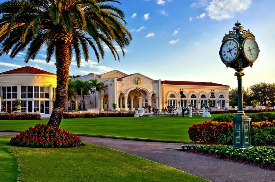 Trump International Golf Club Wedding Ceremony Amp Reception Venue Florida Miami Ft