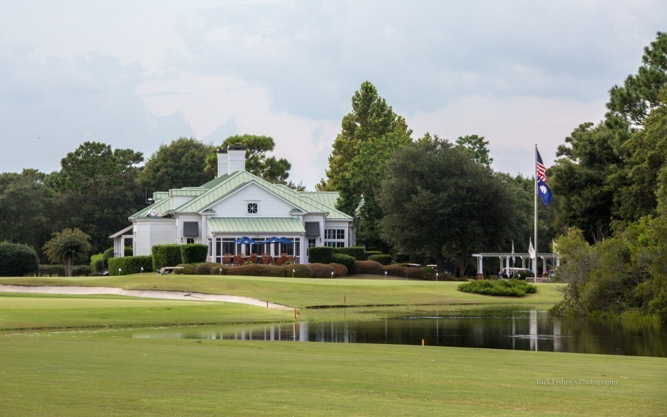 Reserve Golf Club Of Pawleys Island Wedding Ceremony
