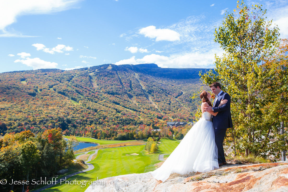 Stowe mountain resort reviews ratings wedding ceremony for Wedding dresses burlington vt