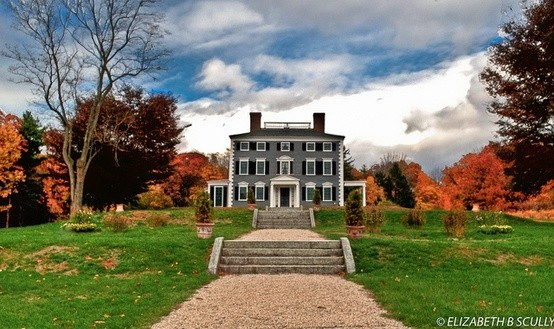 Codman Estate Carriage House And Gardens Wedding Ceremony