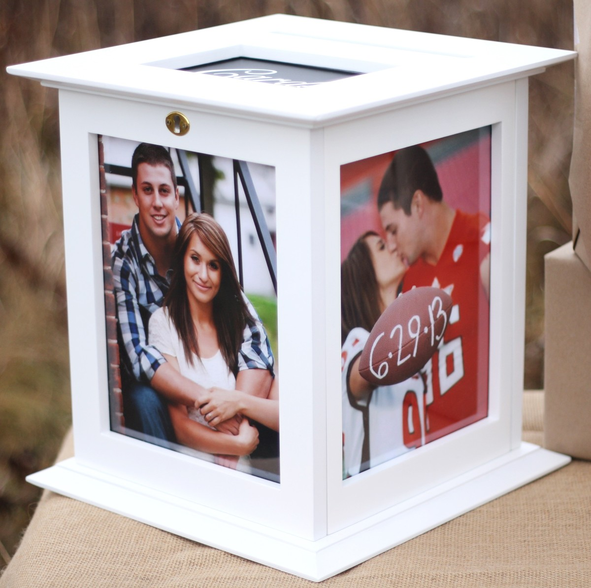 Wedding Gift Box With Lock : The Perfect Card Box Reviews & Ratings, Wedding Favors & Gifts ...