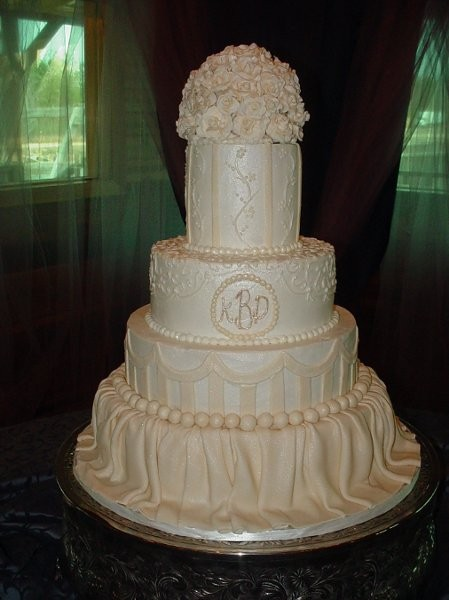 Betty Zeigler Cakes Llc Wedding Cake Florida