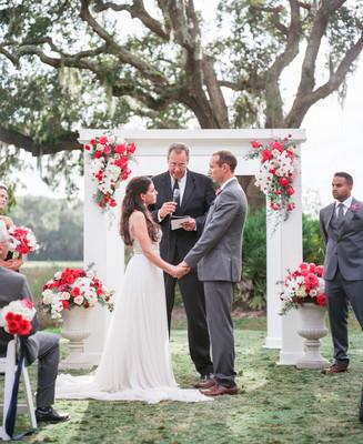 romantic florida plantation wedding, wedding real weddings