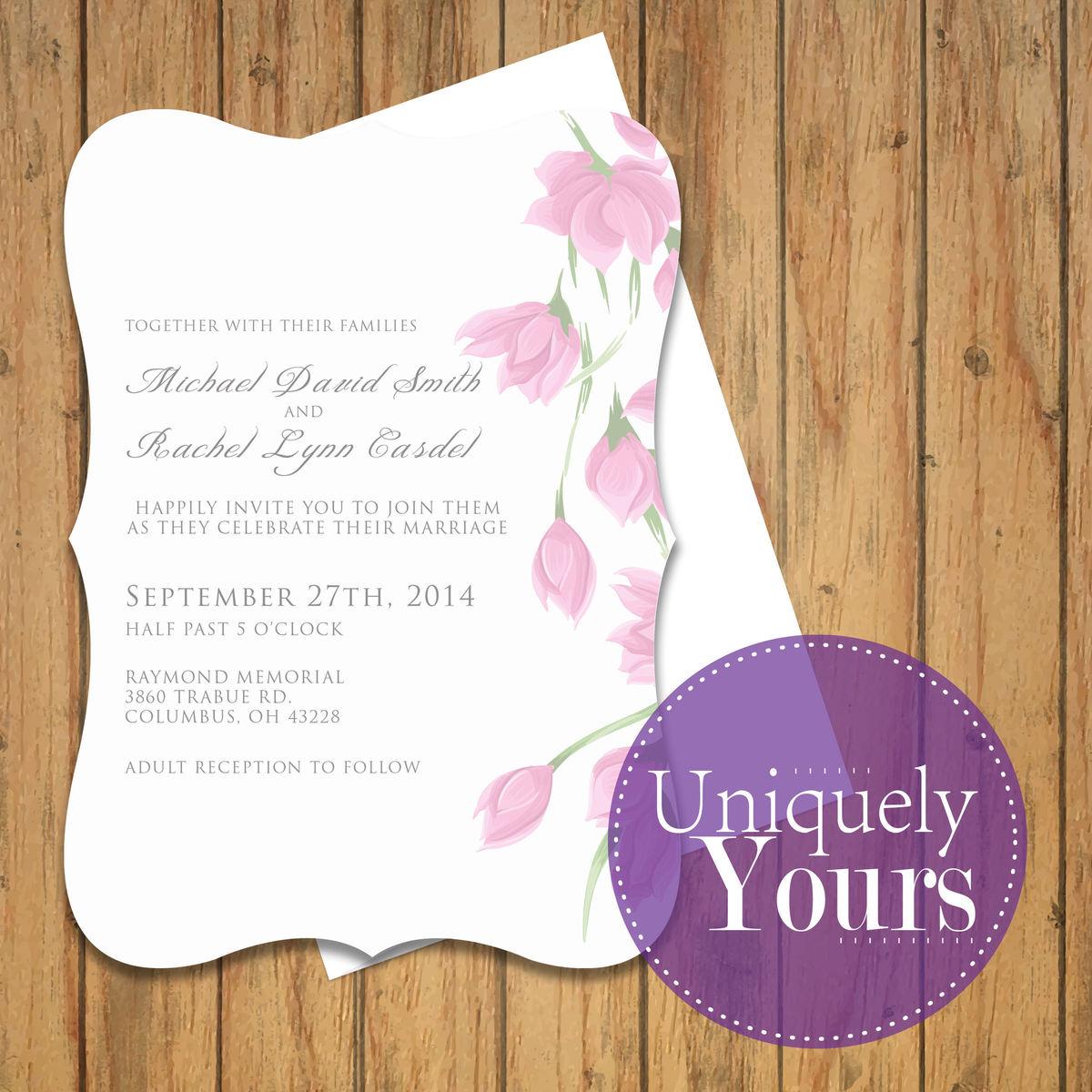 uniquelyyours wedding invitations ohio columbus zanesville and
