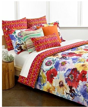 Bright Floral Bedding - Wedding Registry