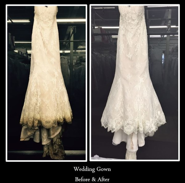 Dependable cleaners gown cleaning and preservation for Where to get wedding dress cleaned and preserved
