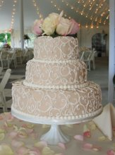 Custom Wedding Cakes by Penny photo