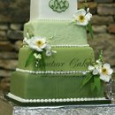 130x130 sq 1286114267466 4tiergreenweddingcakephillips