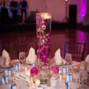 130x130 sq 1419447740456 sheraton gunter purple centerpiece wedding