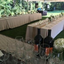 220x220 sq 1478368623662 outdoor wedding drinks setup