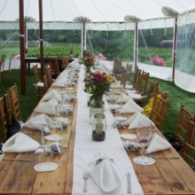 220x220 sq 1478368640900 tent table wedding setup