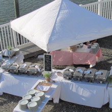 220x220 sq 1508434736133 outdoors20wedding20buffet20setup202.jpg