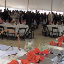 220x220 sq 1508434751853 outdoors20wedding20buffet20setup203.jpg