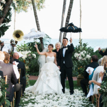 220x220 sq 1449272591923 wedding ceremony with parasols 600x400