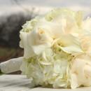 130x130 sq 1427724489341 white rose bouquet11