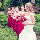 130x130 sq 1444322475728 bride in garden with party
