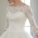130x130 sq 1388618661206 modest wedding dress evely